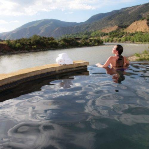 Iron Mountain Hot Springs in Glenwood Springs