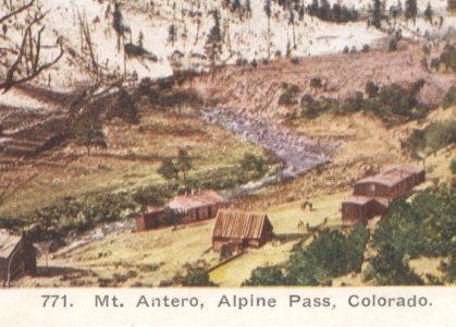 Heywood Hot Springs near Mount Antero