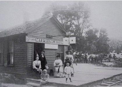 Mount Princeton train depot