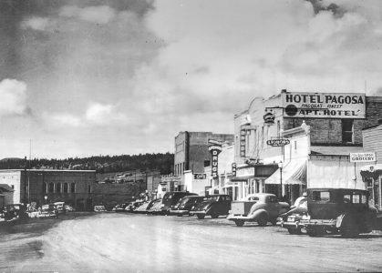 Downtown Pagosa Springs