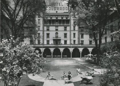 The Hotel Colorado in Glenwood Springs