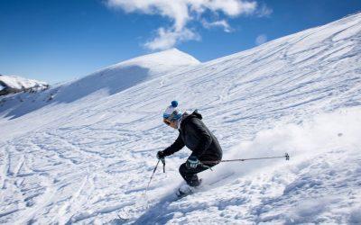 Skiing at Wolf Creek Ski Area