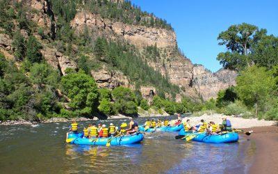 Rafting near Glenwood Springs