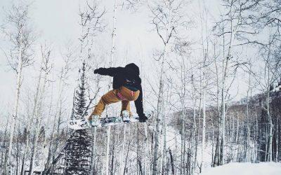 Snowboarding at Wolf Creek Ski Area
