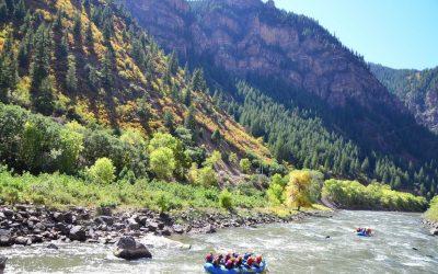 Rafting in Glenwood Canyon